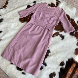 1960's Shannon Rodgers Pink Mod Dress